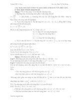 Các dạng bài tập sóng ánh sáng 12 luyện thi đại học