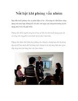 Tài liệu Nổi bật khi phỏng vấn nhóm Bạn đến buổi phỏng vấn và phát hiện có ba - doc