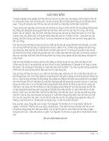 ĐỒ ÁN TỐT NGHIỆP: CHUYÊN NGÀNH CẦU HẦM