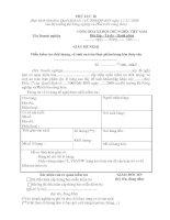 Tài liệu Mẫu giấy đề nghị miễn kiểm tra chất lượng, vệ sinh an toàn thực phẩm hàng hóa thủy sản ppt