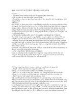 Tài liệu Bài 1: Đ ẠI CƯƠNG VỀ PHỤC HÌNH RĂNG CỐ ĐỊNH pptx