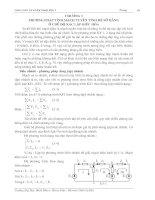 Tài liệu Phương pháp tính mạch tuyến tính hệ số hằng ở chế độ xác lập điều hòa_chương 3 ppt
