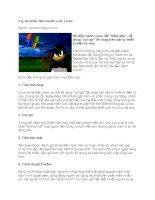 Tài liệu 5 lý do khiến Microsoft ''''e dè'''' Linux ppt