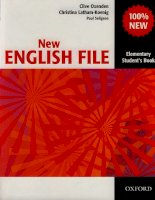 Tài liệu New english file elementary stuent''''s book part 1 doc