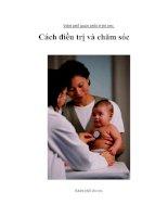 Tài liệu Viêm phế quản phổi ở trẻ em: Cách điều trị và chăm sóc docx