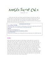 Tài liệu Mobile Secret Code pdf