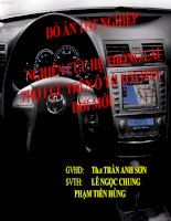 Nghiên cứu hệ thống lái trợ lực trên ô tô toyota đời mới