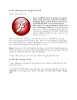 Tài liệu Tải file Flash bằng cách dùng trình duyệt pptx