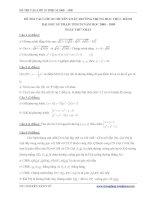 Tài liệu Đề thi lớp 10 chuyên toán trường Trung Học Thực Hành 2008-2009 pptx