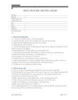 Tài liệu Phân tích môi trường nội bộ pdf