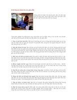 Tài liệu 8 lời khuyên dành cho các giám đốc pdf
