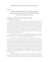 Tài liệu ĐỔI MỚI CUNG ỨNG DICH VỤ CÔNG Ở VIỆT NAM pdf