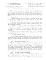 Tài liệu Hướng dẫn đánh giá, xếp loại giáo viên tiểu học theo Quyết định số14/2007/QĐ-BGDĐT. doc