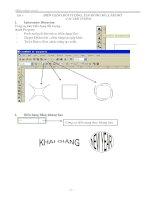 Tài liệu Giáo trình CorelDraw - Bài 6 docx