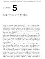 Tài liệu Essential guide to writing part 3 doc