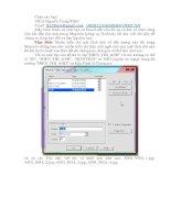 Tài liệu Hiển thị một hình ảnh về đối tượng nào đó trong Mapinfo docx