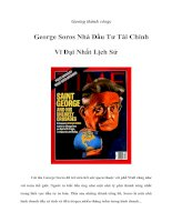 Tài liệu Gương thành công: George Soros Nhà Đầu Tư Tài Chính Vĩ Đại Nhất Lịch Sử pdf