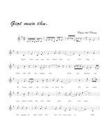 Tài liệu Bài hát giọt mưa thu - Đặng Thế Phong (lời bài hát có nốt) docx
