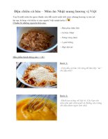 Tài liệu Đậu chiên cá bào – Món ăn Nhật mang hương vị Việt doc