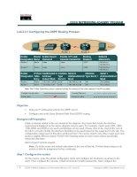 Tài liệu Lab 2.3.1 Configuring the OSPF Routing Process pdf