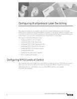 Tài liệu Configuring Multiprotocol Label Switching pptx