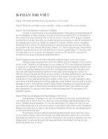 Tài liệu Đáp án phần viết C anh văn pptx