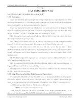 Tài liệu Chương 3 : Lập trình hợp ngữ Giáo trình Vi xử lý pdf