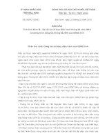 Tài liệu Báo cáo Số: 06/BC-UBND của Ủy ban nhân dân tỉnh Bắc Ninh ppt