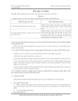 Tài liệu Bài tập CLKD