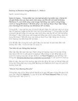 Tài liệu Backup và Restore trong Windows 7 – Phần 2 pdf