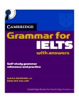 Tài liệu Book grammar for IELTS part 1 ppt