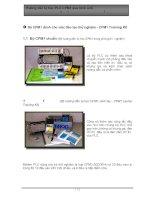 Tài liệu Hứơng dẫn tự học PLC CPM1 qua hình ảnh_ Chương 1 pptx