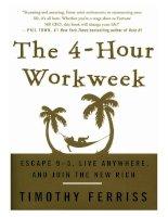 Tài liệu The 4-Hour Workweek doc