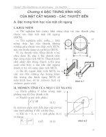 Tài liệu Chương 4. đặc trưng hình học của mặt cắt ngang pdf
