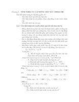 Tài liệu đồ án hệ thống lạnh cho nhà máy thủy sản, chương 3 ppt
