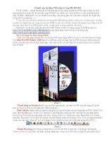 Tài liệu Chỉnh sửa tài liệu PDF như trong MS WORD ppt