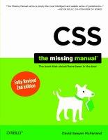 Tài liệu O_Reilly - CSS_ The Missing Manual 2nd Edition (2009)01 pdf