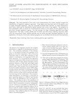 Tài liệu Fuzzy cluster analysis for identification of GENE regulating regions pptx