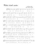 Tài liệu Bài hát khúc tình xuân - Phan Thanh (lời bài hát có nốt) pdf