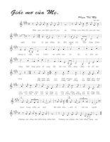 Tài liệu Bài hát giấc mơ của mẹ - Phạm Thế Mỹ (lời bài hát có nốt) docx