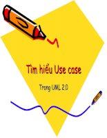 Tài liệu Tìm hiểu Use case Trong UML 2.0 pdf