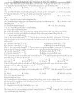 Tài liệu 89 Câu Hỏi Trắc Nghiệm Ôn Tập Vật Lý Lớp 10 pptx