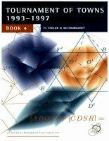 Đề thi Toán hình học quốc tế năm 1993-1997