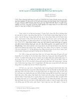 Tài liệu KINH NGHIỆM VỀ QUẢN LÝ NƯỚC SẠCH VÀ VỆ SINH MÔI TRƯỜNG TẠI TRUNG ... docx