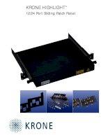 Tài liệu Datasheet - FO - HIGHLIGHT 12-24 Port Sliding tray ppt