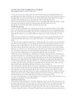 Tài liệu NGƯỜI CAO TUỔI VỚI ĐỜI SỐNG GIA ĐÌNH pdf