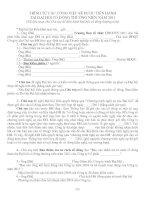 Tài liệu TÀI LIỆU 7: TRÌNH TỰ CÔNG VIỆC TẠI ĐẠI HỘI CỔ ĐÔNG doc