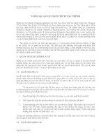 Tài liệu Tổng quan về phân tích tài chính ppt