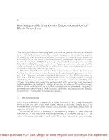 Tài liệu Cryptographic Algorithms on Reconfigurable Hardware- P8 pdf