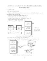 Tài liệu Các phần tử của hệ thống điều khiển bằng thủy lực_chương 3 ppt